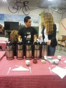 cafe sarria provnning