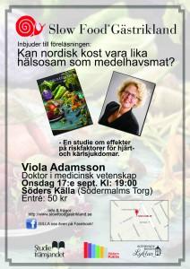 Nordisk mat inbjudan